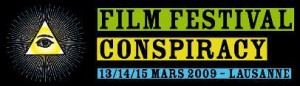 La bannière du Conspiracy Film Festival