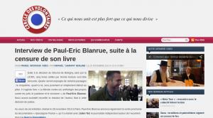Entretien entre le CdV et le negationniste Paul Eric Blanrue