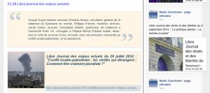 """Sur le blog """"Les carnets de courtoisie"""""""