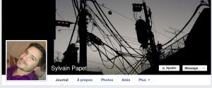 Facebook de Sylvain Papet