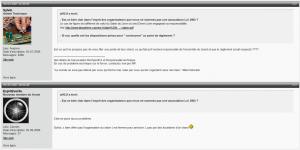 """Sur le forum le compte de Sylvain Papet alias Sylvio est inscrit depuis 2006 et porte la mention """"admin technique"""""""