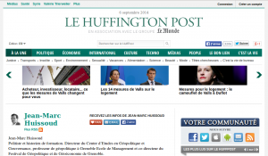 Huissoud sur le site du Huffington Post