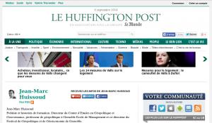 Huissoud sur le site du Huffington Post