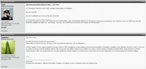 En 2012 sur le forum de ReOpen911, on apprend aussi qu'ils ont des amis dans l'association Survie