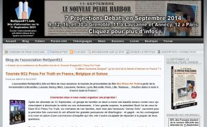 """Tournée de """"9/11 press for truth"""" sur ReOpen911"""