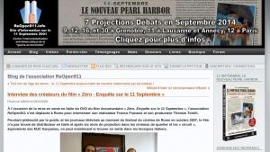 L'interview à Rome en 2008 sur le site de ReOpen911