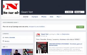 Compte facebook de Christophe Terrasson