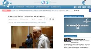 """L'article de Christophe Oberlin sur """"Agence Infos Libre"""""""