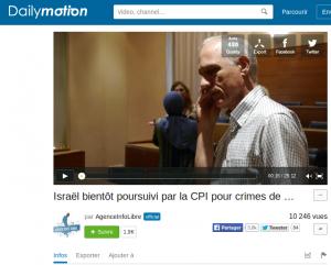 """Christophe Oberlin sur la chaine Dailymotion de """"Agence Info Libre"""" (filmé par ces derniers"""