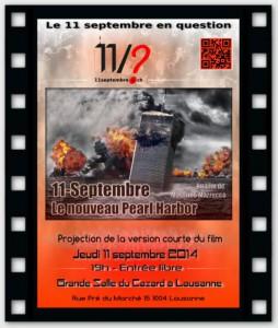 L'affiche de l'évenement à Lausanne